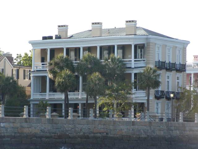 Homes along The Battery