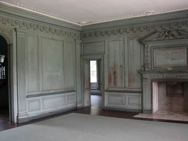 Drayton Hall interior view