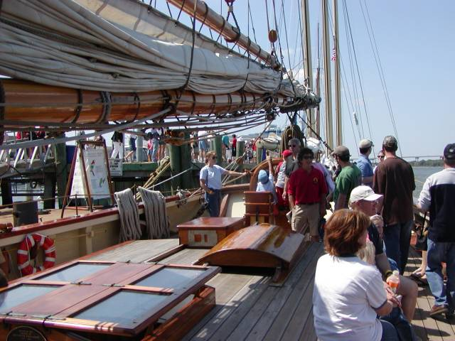 Onboard a Tall Ship